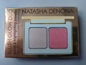 Natasha Denona Blush & Highlighting Glow Duo Mini Powder Palette 4g Brand NEW