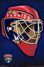 FLORIDA PANTHERS - MASK LOGO POSTER - 22x34 NHL HOCKEY 14908