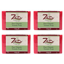 TOMATO SOAP ACNE CONTROL Pack4 Exfoliate Skin Reduces pores Anti Bacterial