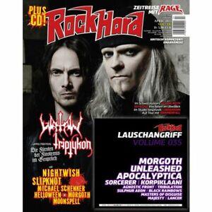 Rock Hard 2015 #335 WATAIN TRYPTIKON Magazine Germany RARE