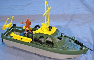 M.P.C. 1990s Recasts - P.T. Boat - unpainted plastic - 54mm figure not included