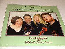CD Cypress String Quartet: Live Highlights 2004-05 Concert Season New