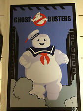 Ghostbusters Stay Puft Marshmallow Man movie poster print