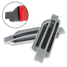 Car Side Air Flow Vent Fender Hole Cover Intake Grille Duct Sticker