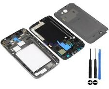 COQUE COMPLETE REMPLACEMENT FACADE CHASSIS SAMSUNG GALAXY NOTE 2 N7105 GRIS NOIR