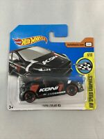 Hot Wheels - Ford Focus RS (2017 HW Speed Graphics Koni Black) - BOXED SHIPPING