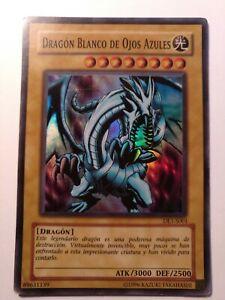 Carta Yugioh Dragon Blanco de Ojos Azules DL1-S001