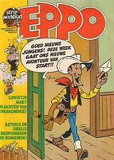 STRIPWEEKBLAD EPPO 1977 nr. 28 - LUCKY LUKE (COVER)/VARIOUS COMICS