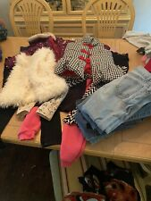 Sizs 6T Girls Clothes- LOT of 25 (Jeans, Pants, Tops, Coat, Vests)