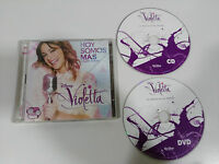 VIOLETTA HOY SOMOS MAS CD + DVD EDICION DELUXE DISNEY DESCATALOGADO!