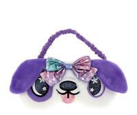 Claire's Pretty Puppy Sleeping Mask in Purple New with Tags
