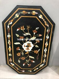 3'x2' Marble Coffee Dining Table Top Mosaic Inlay Hallway Furniture Decor E132