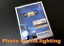 Philips Ultinon LED 12859 bulb 36mm 37mm 38mm C5W festoon light lamp White 6000K