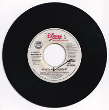 Philippines CELINE DION & PEABO BRYSON Beauty And The Beast 45 rpm PROMO Record