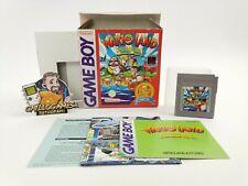 "Nintendo Gameboy Classic Game "" Wario Land Super Mario Land 3"" Ovp Camarada"