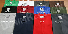 1 NEW PROCLUB MENS BLANK T HEAVYWEIGHT TSHIRT PRO CLUB PLAIN SHIRT M - 3XL
