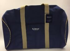 811979f3e0ff Burberry Fragrances Blue Extra Large Tote Weekend Duffle Bag NWT