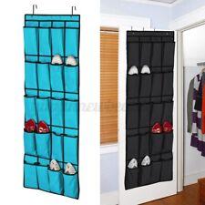 20 Pockets Door Hanging Bag Shoe Rack Hanger Holder Storage Organizer Pouch AU