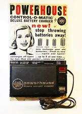 POWERHOUSE CONTROL-O-MATIC BY FEDTRO-RARE 1968 DELUXE BATTERY CHARGER