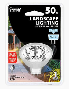 Feit Electric 50-Watt EQ 1.78-in MR16 Bright White Dimmable Outdoor