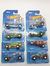 Hot Wheels Wooden Track Cars X8 Brand New