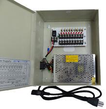 CCTV 12V DC Power Distribution Supply Box 9CH 9 CH 5AmP