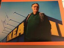 Ingvar Kamprad +IKEA Gründer original sign.