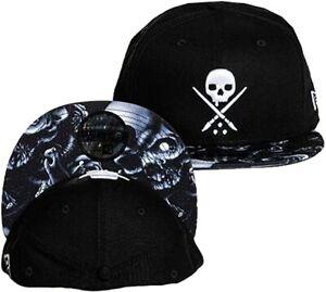 Sullen Serpent Eternal Adrian Hing Skulls Urban Tattoos Snapback Hat SCA3155