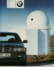 BMW E46 3 Series Saloon Sales Brochure - January 2001