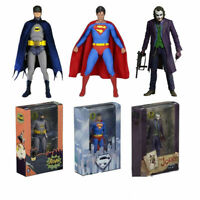 "NECA DC Comics Batman Superman Joker PVC Action Figure Collectible Toy 7"" Model"