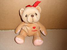 Cherished Teddies 1999 bean bag plush Cookie bear 7 in.