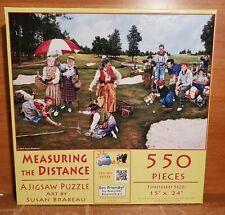 SunsOut MEASURING THE DISTANCE 550 Piece Puzzle, 44386 Susan Brabeau, Excellent