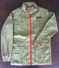 NEUF veste DIESEL 55DSL verte M blouson militaire rouge manteau parka coupe-vent