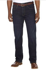 Urban Star Men's Relaxed Fit Straight Leg Jeans Midnight Blue