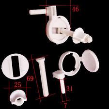 1setPlastic Toilet Seat Screws Fixings Fit Toilet Seats Hinges Repair ToolsES