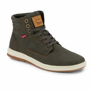 Levi's Mens Fletcher 2 Waxed UL NB Fashion Lace-up Hightop Sneaker Shoe