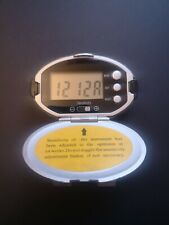 Digital Pedometer with Step Counter-Time-Mile-Km-Kcal modes