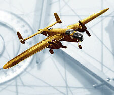 """Model Airplane PLANS semiscale B 25 Mitchell Stunt 54"""" Two .15-23 Printed plans"""