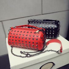 Fashion Rivet Chain Bag Women's Casual Cross Body Bag Handbag Shoulder Bag Tote