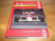 Book. McLaren. A Racing History. Geoffrey Williams. 1st 1991 HB. Free UK P&P.