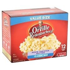 Orville Redenbacher's Film Theater Butter Popcorn,Klassisch Tasche,Gluten-Frei