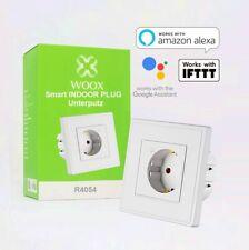 WOOX R4054 - Smart Wandfunksteckdose, 16A, APP- & sprachgesteuert Alexa+Google