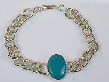 Turquoise Feroza Gemstone Bollywood Fashion Salman Khan Style Men's Bracelet-13