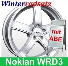 """16"""" ABE Winter Kompletträder NOKIAN TEC AS1 Silber für VW Golf Sportsvan AUV"""