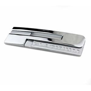Chrome PLATINUM Rear Trunk Emblem Badge for Cadillac Escalade XT5 XTS ATSL CT6