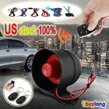 Car Vehicle 1-way Anti-theft Alarm Keyless Entry Security System Remote Control