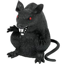 15 cm Gothique petites Halloween Fête Evil Black Monster Rat Prop Décoration