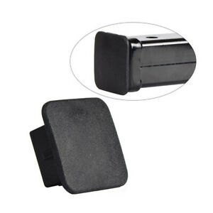 "Rubber Car SUV Kittings 1-1/4"" Black Trailer Hitch Receiver Cover Cap Plug Parts"