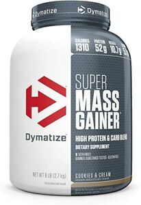 Dymatize Nutrition 6lb Super Mass Gainer Protein Powder - Cookies & Cream
