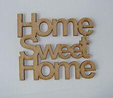 House with cutout heart x 10 Wooden Craft Shape 110 X 110 X 3mm Mdf  laser cut